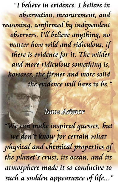 asimov evidence and guesses
