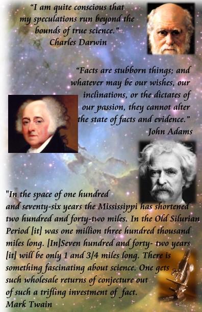 twain darwin adams quotes