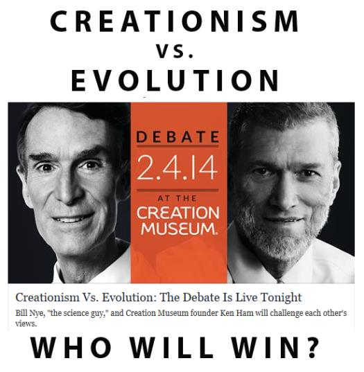 Bill Nye vs Ken Ham debate