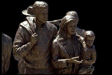 bronzefamilygroup