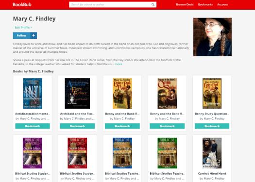 bookbub screenshot
