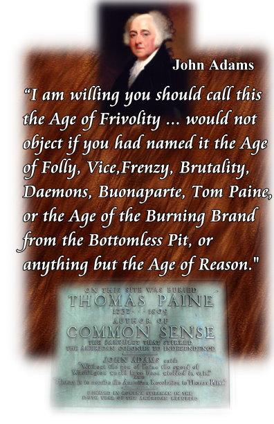 age of folly adams age of reason