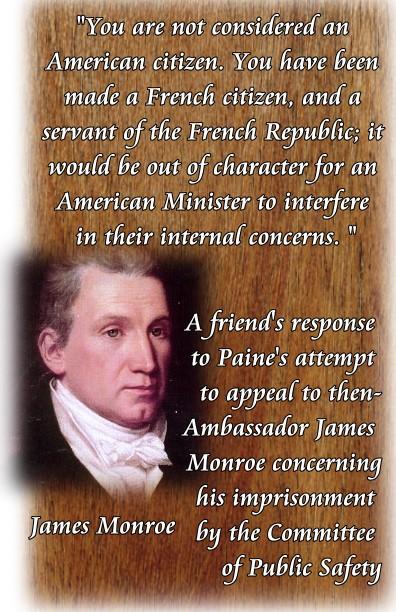 monroe appeal paine not citizen