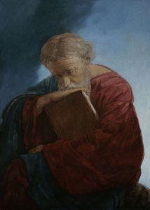 Apostle_John_the_Theologian_on_the_island_of_Patmos._Mironov
