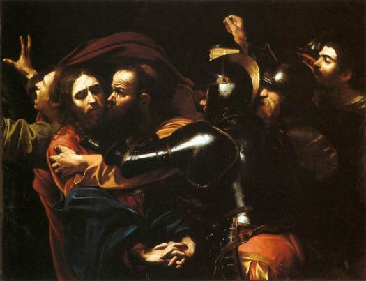 Caravaggio_-_Taking_of_Christ_-_Dublin