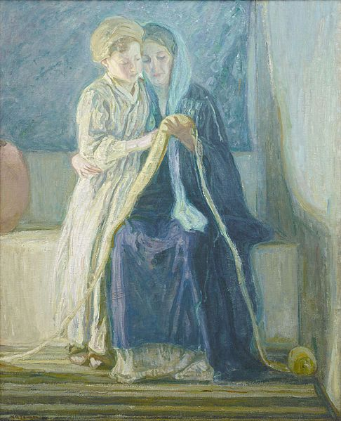 Christ_and_His_Mother_Studying_the_Scriptures_by_Henry_Ossawa_Tanner