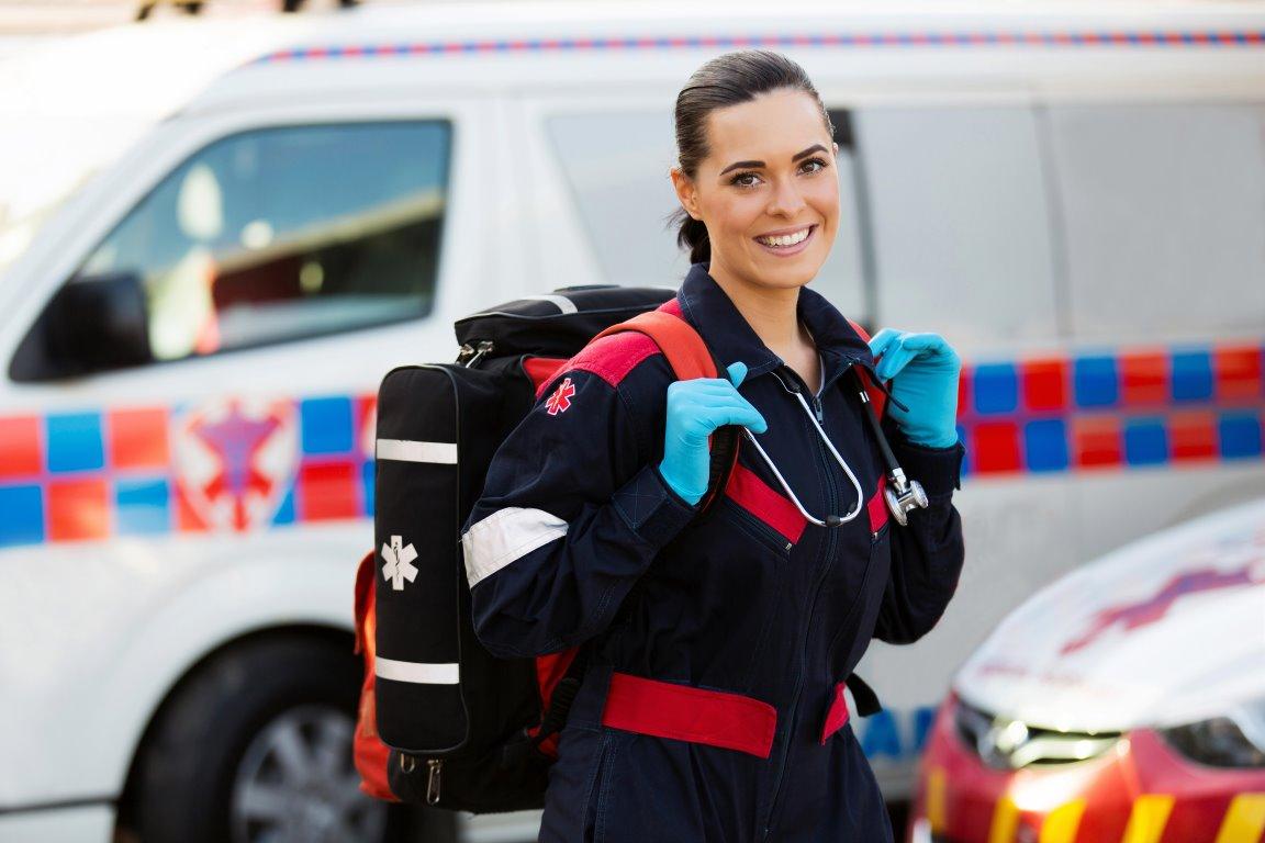 Image of Female EMT